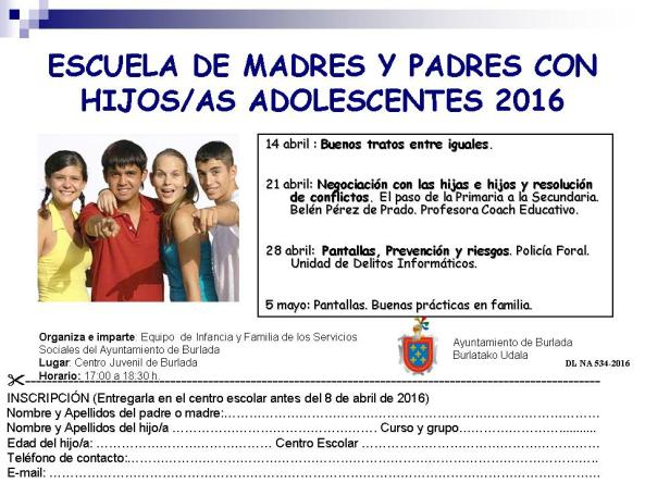 Folleto E.SECUNDARIA 2016